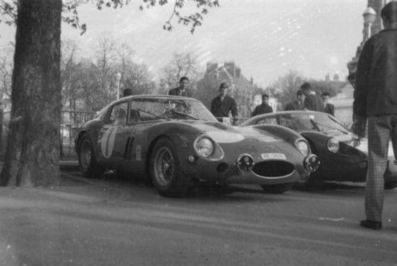 Decals Ferrari 250 GTO Bourillot/Bouly Rallye de Bourgogne 1965 1/43