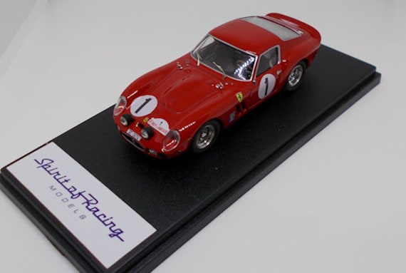 Art. BL430002 Ferrari 250 GTO Bourillot/David Rallye de Bourgogne 1966 1/43. Disponibile.