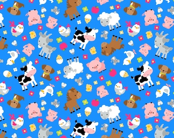 Down on the Farm Fabric collection by Doodlebug Design Inc,  Riley Blake Designs