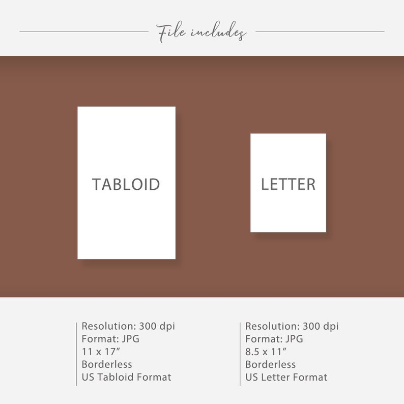 Printable 8.5 x 11 and 11 x 17 /& A4 and A3 Sheets Dollhouse Wallpaper 1:12 Star Floor Farmhouse Flooring For Miniature Dollhouse