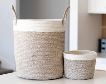 Blankets Laundry Bin for Baby and Kids Toy Storage Decorative Cotton Hamper for Living Room Large USA Themed Organizer Woven Basket Rope Laundry Basket Toys Nursery