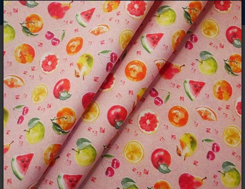 pink skirt summer skirt orange skirt cherry skirt melon skirt lemon skirt children skirt Fruit skirt elasticated skirt adults skirt