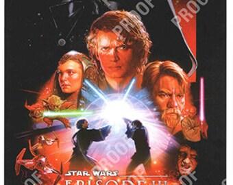 Revenge Sith Poster Etsy