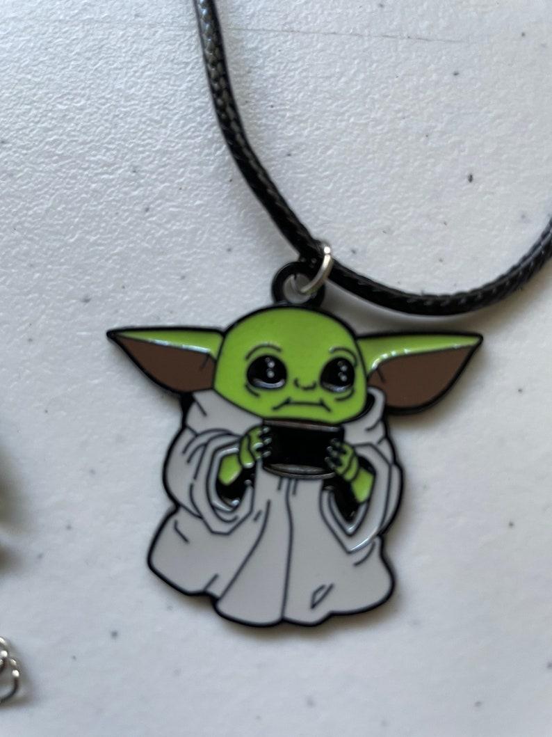Baby Yoda necklace