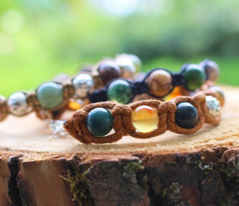 Jasper grey 8 mm 8pcs mineral beads