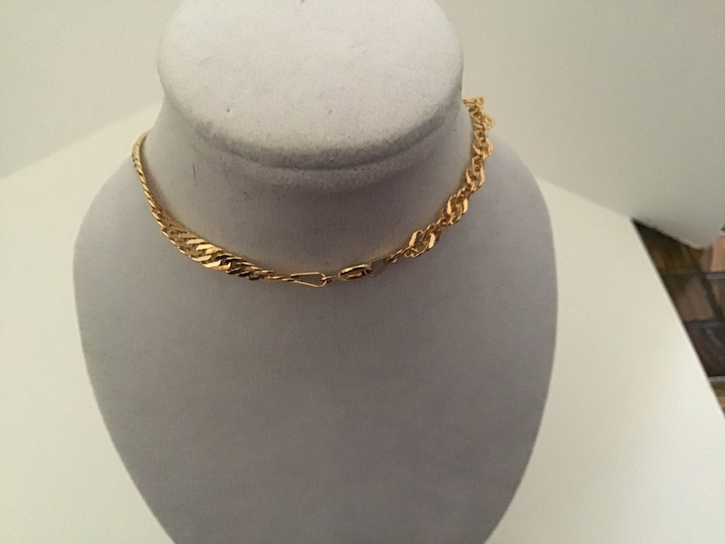 made in Italy Anklet,Rope Style 14 K Gold