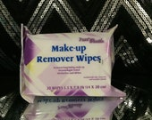 Pure Gentle Make up Remover Wipes Cucumber Extracts Dermatologist Tested Alcohol-free and Oil-free Enriched with Aloe, and Green Tea