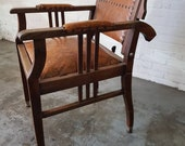 Barber 39 s chair from the early 1900s