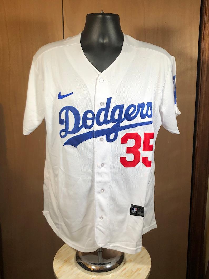LA Dodgers Home Bellinger Jersey Men\u2019s