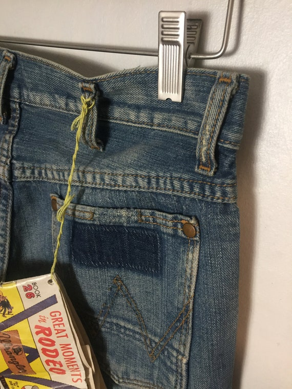 RARE Wrangler Blue Bell 11MWZ Rodeo Jeans - image 5