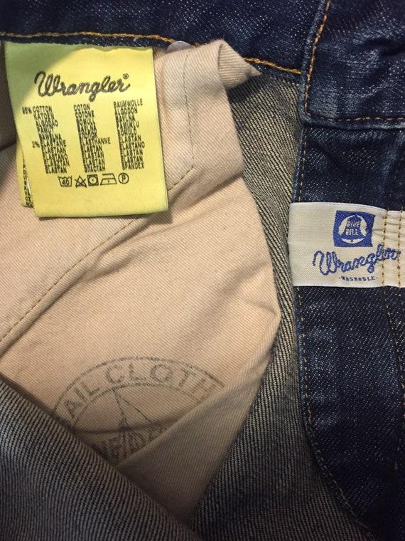 RARE Wrangler Blue Bell Johnny Slim Jeans - image 7