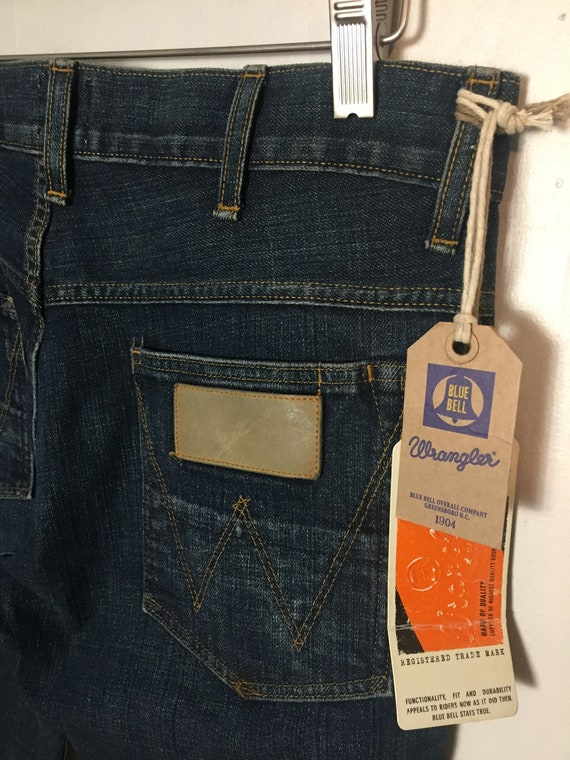 RARE Wrangler Blue Bell Johnny Slim Jeans - image 6