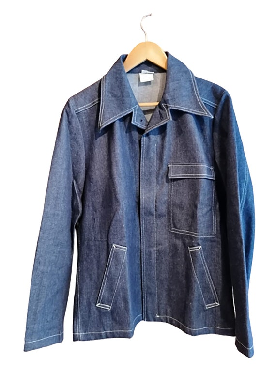 Made in France 70's Workwear Denim Jacket