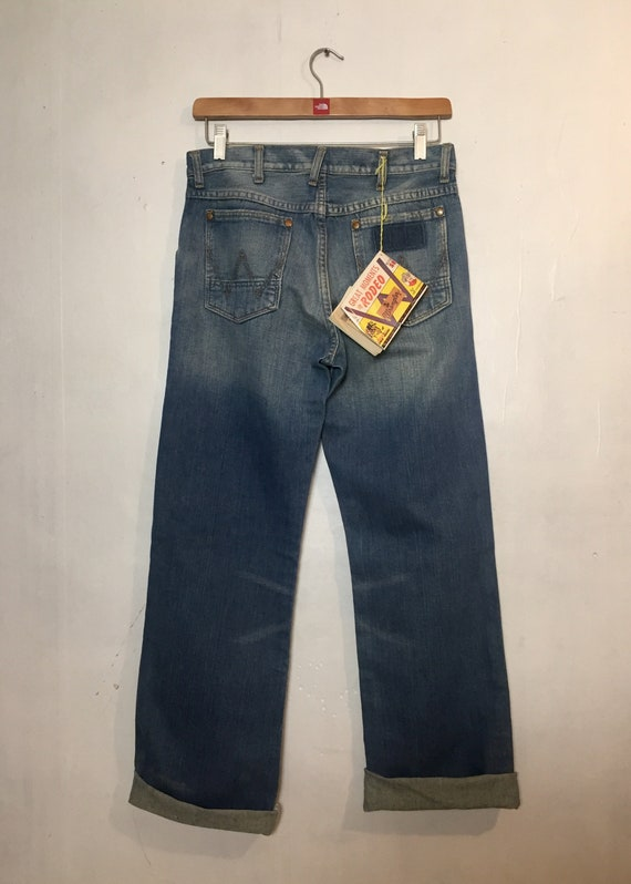 RARE Wrangler Blue Bell 11MWZ Rodeo Jeans - image 3