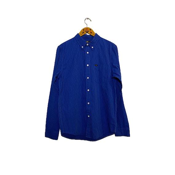 Lee Indigo Dye Striped Shirt