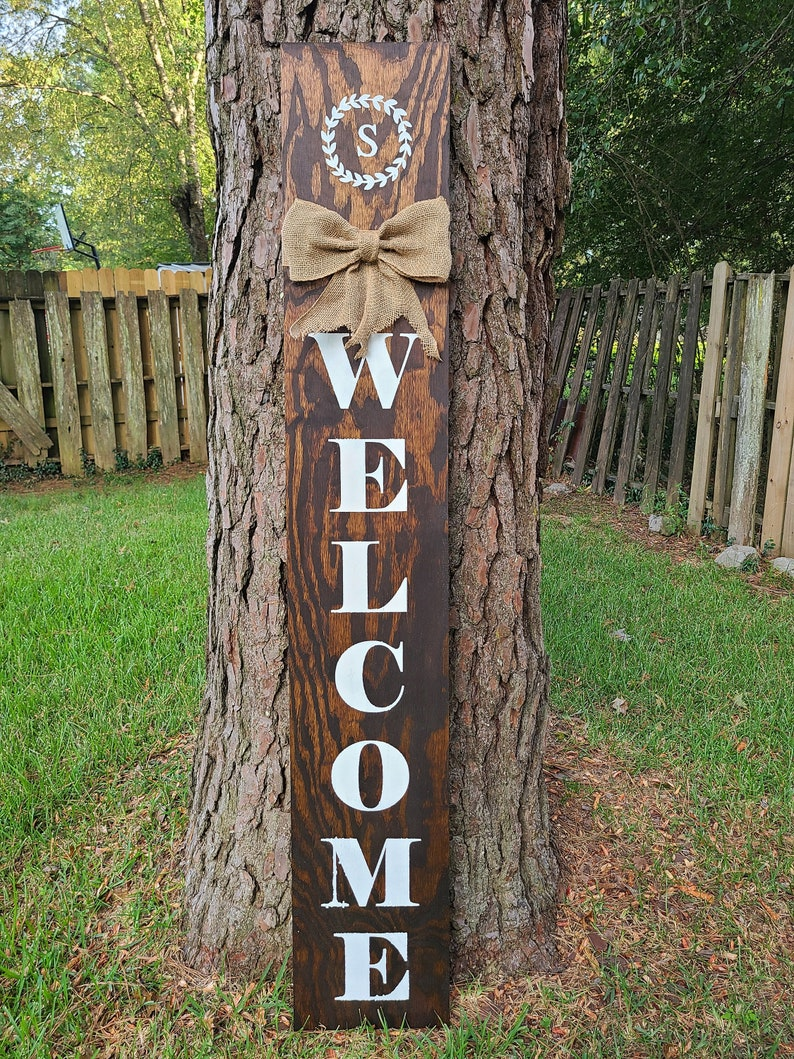 6ft Welcome Porch Signs