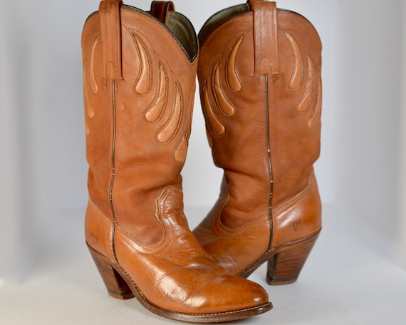 70's Vintage Frye Cowgirl Boots