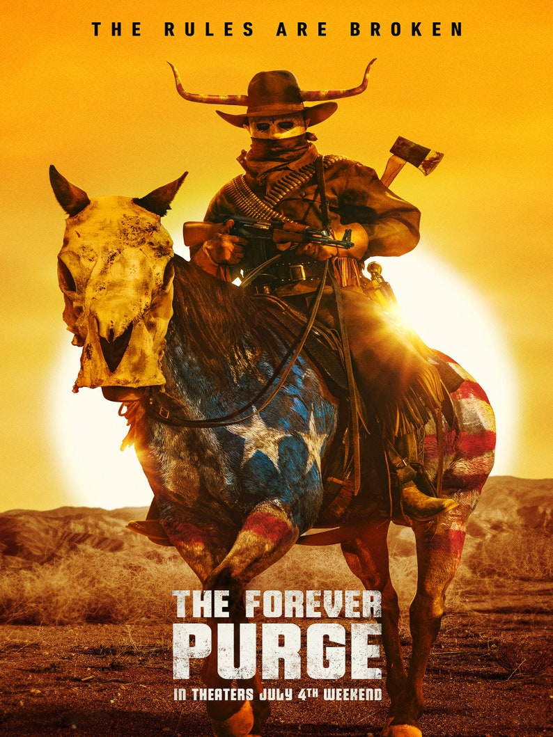 The Forever Purge 2021 print The Forever Purge 2021 movie image 0