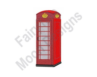 LONDON PHONE BOX PERSONALISE HANDMADE CARD INSIDE OUTSIDE BIRTHDAY ANNIVERSARY