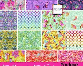 Tula Pink Tiny Beasts Bundle - PREORDER - Half yard, Full Yard - 100% Cotton - Free Spirit - APRIL ship date