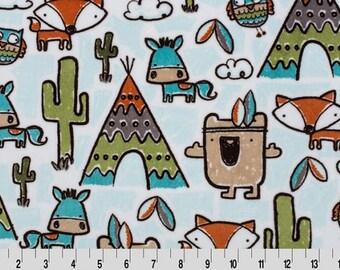Pow Wow Minky - Cuddle® Minky - 1/2 Yard Increments - Shannon Fabrics