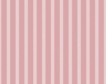 Stripes Pink Sonnet Dusk - Floral - 100% Cotton - Riley Blake Designs - Fabric By The Yard - C11295-PINK