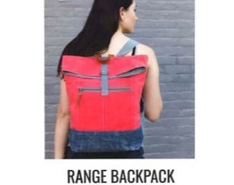 Range Backpack Pattern by Noodlehead