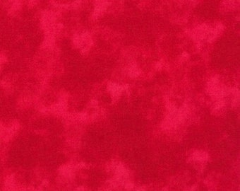 Red Cloud Cover - Fabric By The Yard - 100% Cotton - Robert Kaufman - Blender Fabric - Sevenberry