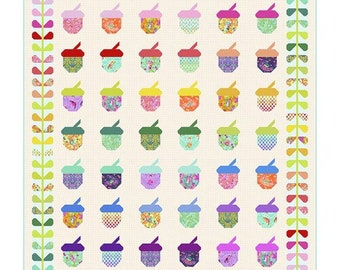 Tula Pink Nutty Quilt Kit PREORDER - Tiny Beasts - 100% Cotton - Free Spirit - April ship date