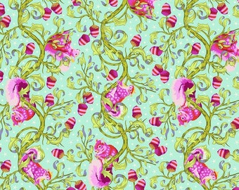 Backing Kit for Nutty Quilt by Tula Pink - Preorder - Tiny Beasts - 100% Cotton - Free Spirit Fabrics - Oh Nuts