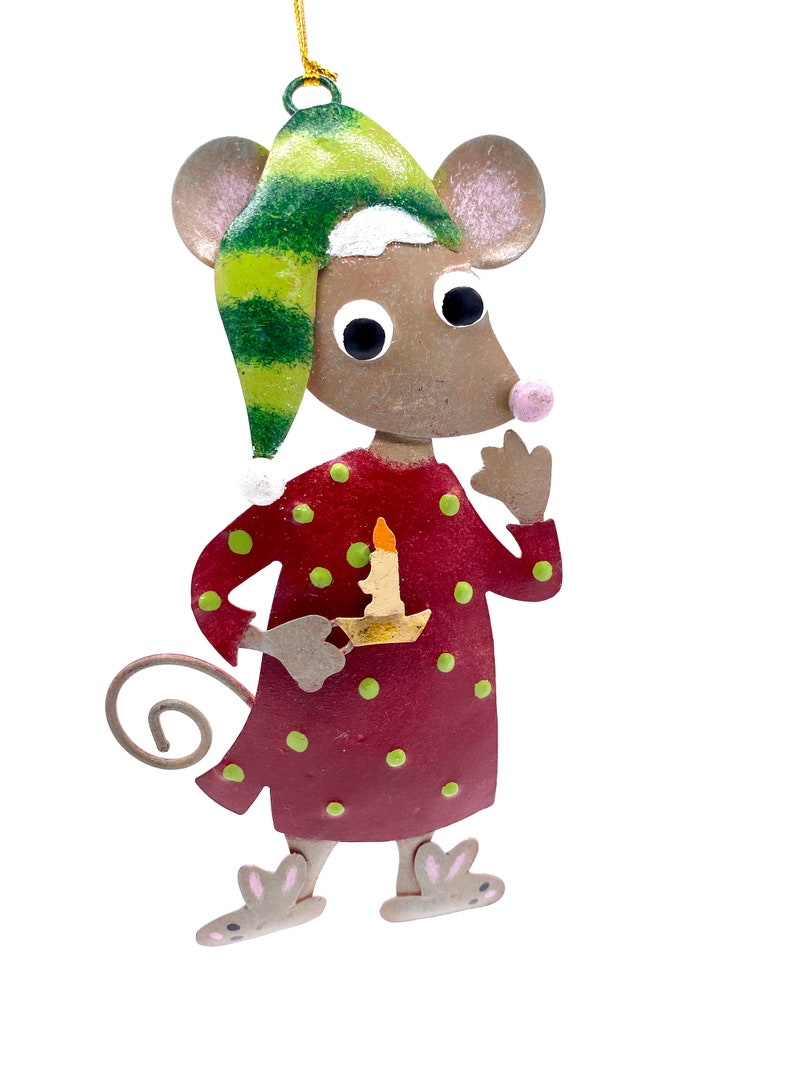 Twas The Night Before Mouse Christmas Tree Ornament