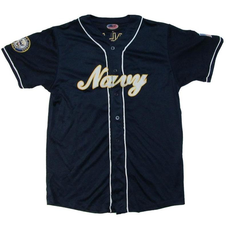 Navy Baseball Jersey U.S
