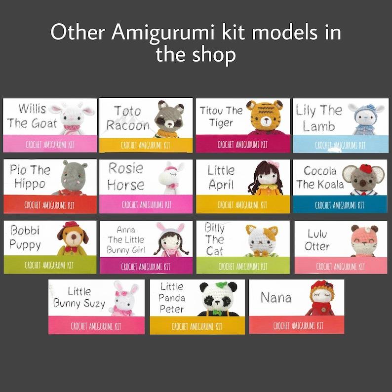 Little Bunny Suzy Diy Amigurumi Kit Large Crochet Toy CROCHET KIT AMIGURUMI Cute Amigurumi Pattern Learn to Diy Crochet Gift Doll