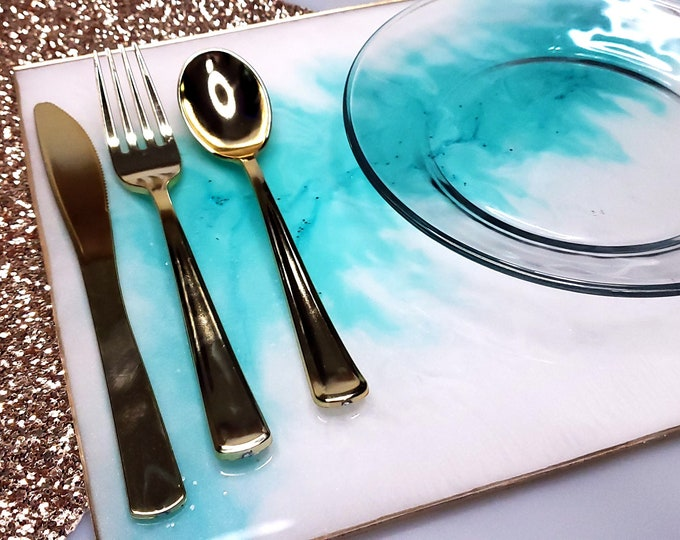 Featured listing image: Resin Placemat Table Setting