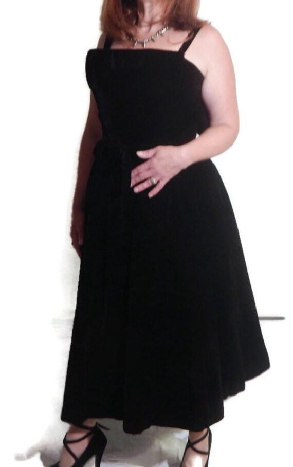 1950's Vintage Cocktail Dress by Designer Suzy Per