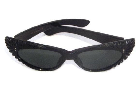 Vintage 1950's French Cat Eye Sunglasses