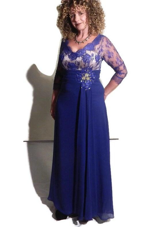Vintage, Formal  Full Length Dress