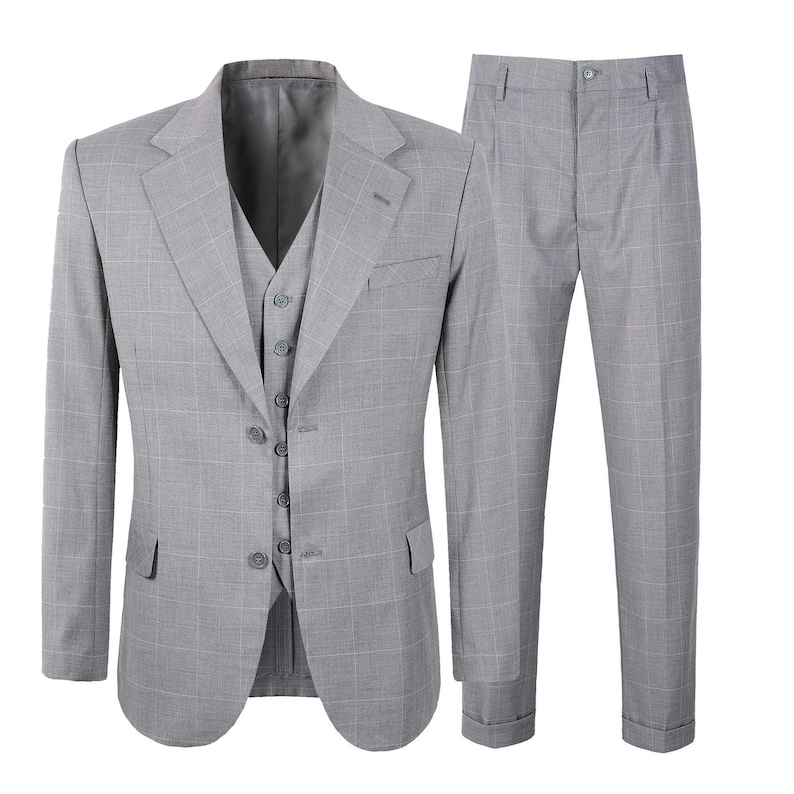 Men's Vintage Clothing | Retro Clothing for Men     Read the full title    1920s 1930s Mens 3 Piece Check Suit Vintage Peaky Blinders $129.00 AT vintagedancer.com