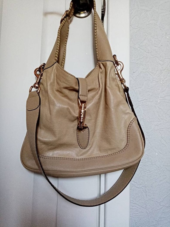 Authentic Gucci bag, Gucci leather Bag, Gucci hobo