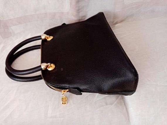 Valentino bag, Valentino black bag, Valentino lea… - image 4
