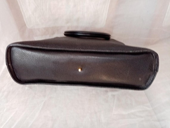 Valentino bag, Valentino black bag, Valentino lea… - image 3