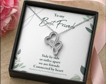 Soul Sister Necklace, Best Friend Gift, BFF Gift, Bestie Birthday Gift, Soul Sister Gift