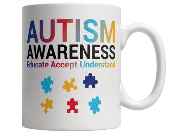Autism Awareness, Educate, Accept, Understand