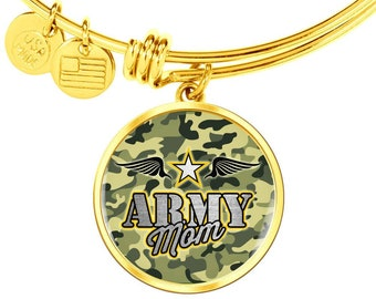 Gift to Army Mom Army Mother's Gift from Daughter, or Son,