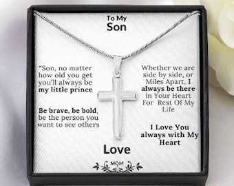 Mother Son Gifts, For My Son Gift, Unique Birthday Gift For Son To My Son Gift, Emotional Gift For Son, Personalized Gift For  Grown Son