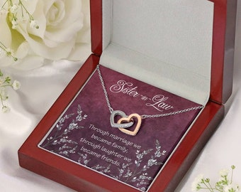 Gift for Sister In Law, Sister-in- Law Gift, Gift for Bridegroom's Sister, Through Laughter We Became Friends