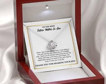 For Mother-in-law,To My Mother-in-law, Mother-in-law Necklace, Mother-in-law Pendant Necklace,Mom-in-law Necklace, To My Future Mom-in-law