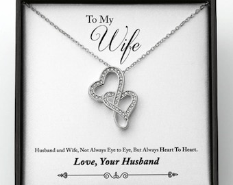 Valentine Gift for Wife,  Valentine's Day Gift for Wife from Husband,Necklace for Romantic Wife, Forever Love, Gift for Wife, Wife Gift