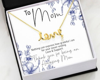 To Mom, Thank You For Being An Amazing Mom