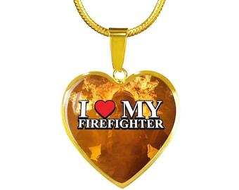 I Love My Firefighter 1